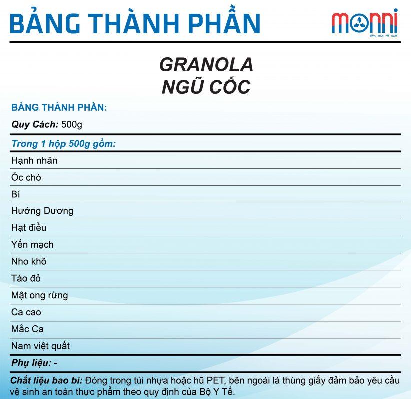 Granola Ngu Coc