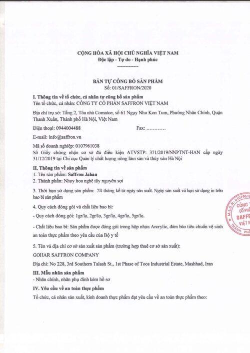 1. Ban Tcb Saffron Jahan 1