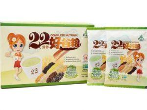 Bột ngũ cốc dinh dưỡng 22 Complete Nutrimix Wheat Grass 650g