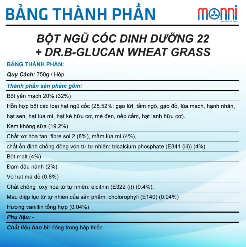 +dr.b Glucan Wheat Grass 750g