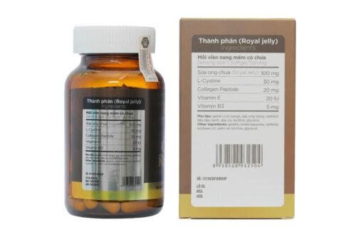 Honeylands Sua Ong Chua Collagen Royal Jelly 4 Org