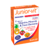 Healthaid Junior Vit Chewable Tutti Fruity Flavour Age 2 Plus Blister 700x700