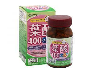 Viên uống Itoh Acid Folic 400 Ca-Fe Plus