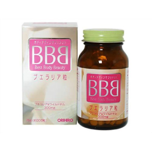 Thuoc No Nguc Bbb Best Body Beauty Orihiro 300v Nhat Ban