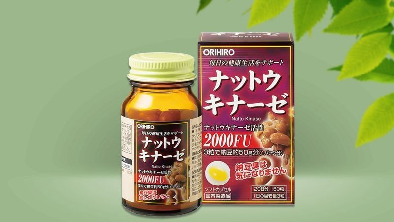 Vien Uong Orihiro Nattokinase