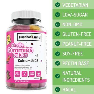Classic Gummies For Kids: Calcium & D3