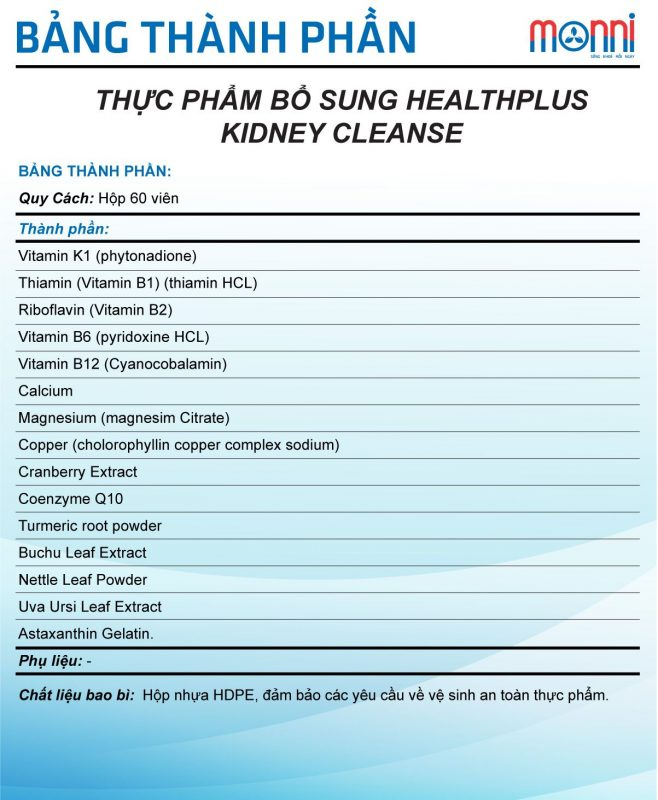 Tpbs Healthplus Kidney Cleanse