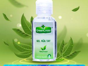 Gel Rua Tay Green Cross 60ml Web
