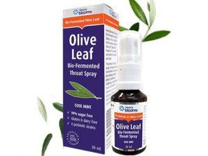 Olive Leaf Bio Fermented Throat Spray