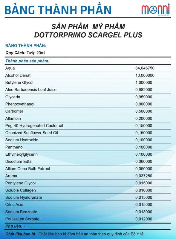 Scargel Plus 20ml