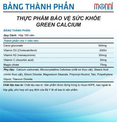 Green Calcium Btp 2