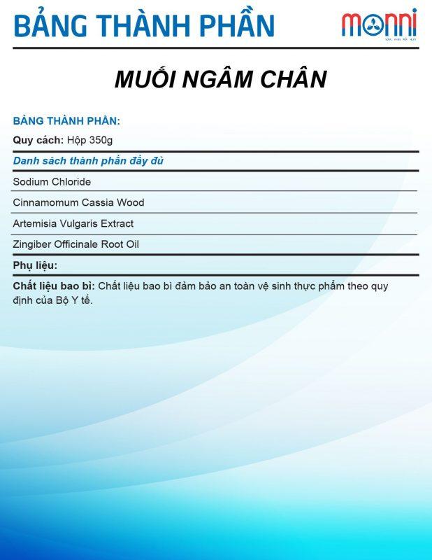 Muoi Ngam Chan Thao Duoc Vonmom