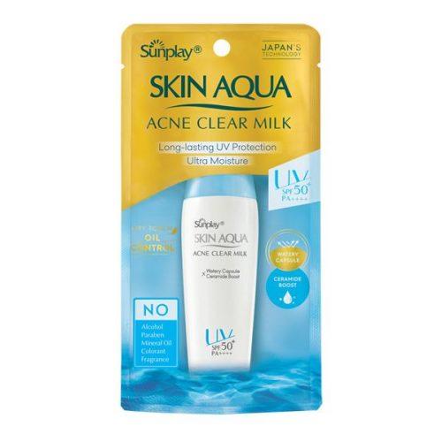Sunplay Skin Aqua Acne Clear Milk