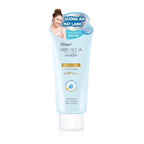 Sunplay Skin Aqua Uv Body Cooling Lotion