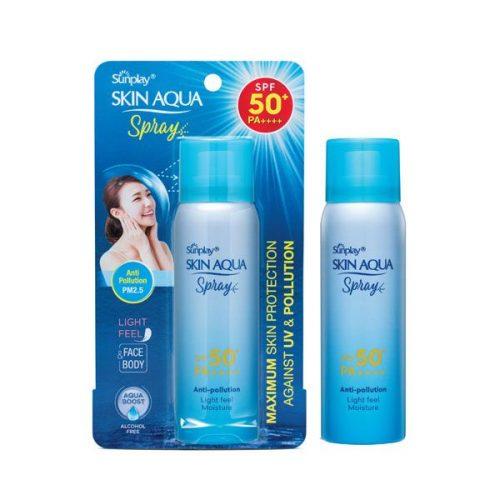 Xit Chong Nang Khang Bui Sunplay Skin Aqua Spray