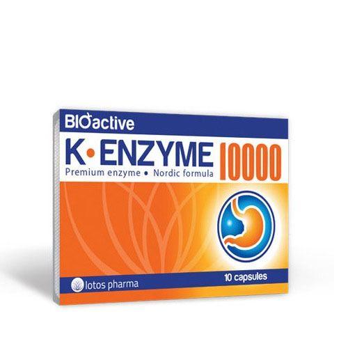 K Enzyme 10000 Lotos Pharma Lavita