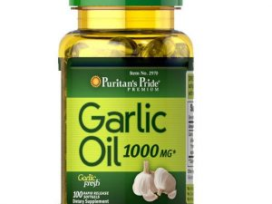 Garlic Oil 1000mg 100 Vien Puritan's Pride Usa