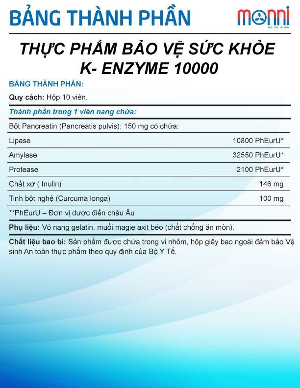 K Enzyme 1000