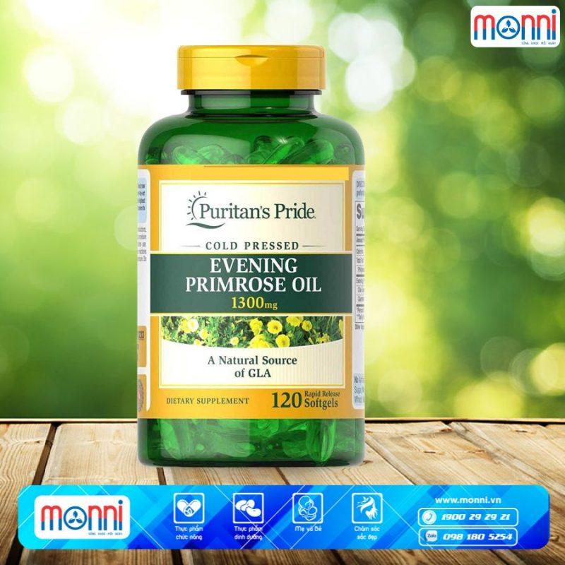 Thực phẩm bảo vệ sức kh�e Pride Evening Primrose Oil 1.300mg