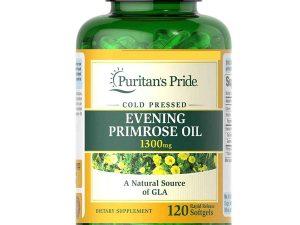 Pride Evening Primrose Oil 1.300mg With Gla Puritan's Pride Usa