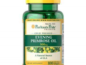 Pride Evening Primrose Oil 500 Mg With Gla Puritan's Pride Usa
