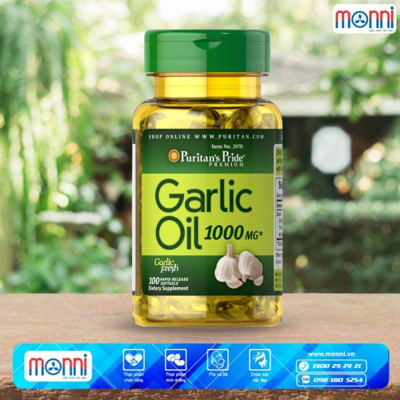 Thực phẩm bảo vệ sức kh�e Puritan's Pride Garlic Oil