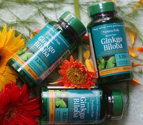 Thực phẩm bảo vệ sức kh�e Ginkgo BiloBa Standardized Extract 120mg