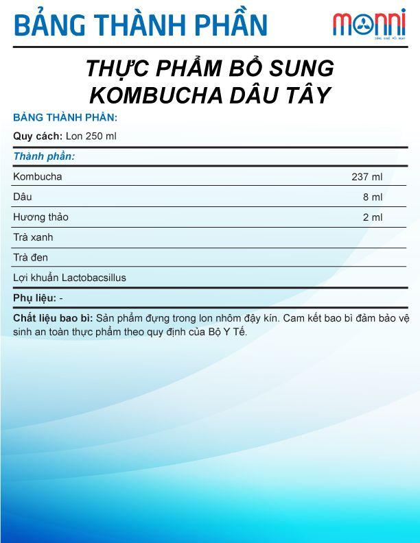 Kombucha Dau Tay
