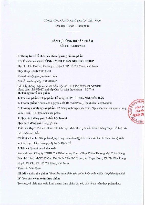 Kombucha Nguyen Ban Viet Nam Cb