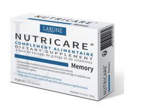 Nutricare Memory 30 Vien Larune Paris Phap