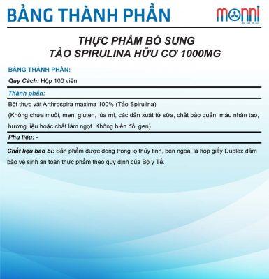 Tao Spirulina Huu Co Wealthy Health